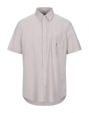 Pубашка BAND OF OUTSIDERS. Цвет: голубиный серый