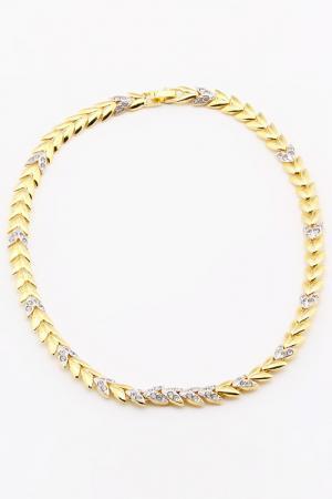 Ожерелье Jenavi. Цвет: белый