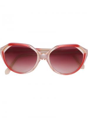 Солнцезащитные очки с угловатой оправой Yves Saint Laurent Pre-Owned. Цвет: красный