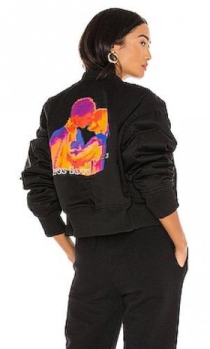 Куртка Local Heroes. Цвет: черный