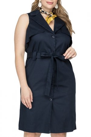 Платье La Via Estelar. Цвет: синий