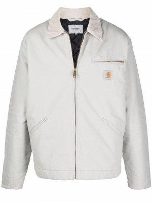 Chest patch-pocket jacket Carhartt WIP. Цвет: серый