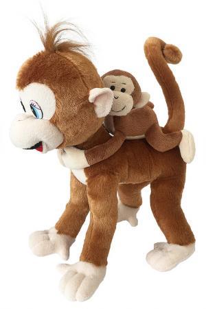 Обезьянка Микки с детенышем Fluffy Family. Цвет: none