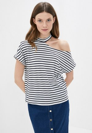 Блуза Kira Plastinina. Цвет: белый