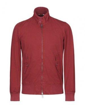 Куртка BARACUTA. Цвет: ржаво-коричневый