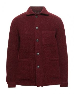 Пиджак DOPPIAA. Цвет: кирпично-красный