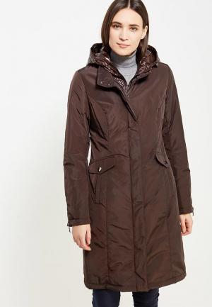 Куртка утепленная J-Splash. Цвет: коричневый