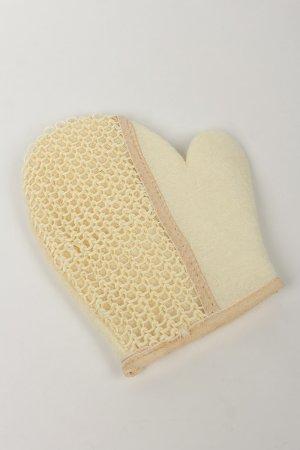 Мочалка-варежка сизаль/ткань LacyWear