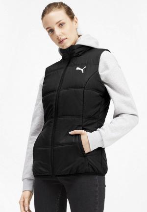Жилет утепленный PUMA Essentials Padded Vest. Цвет: черный