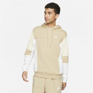 Мужская худи из трикотажа френч терри Sportswear - Коричневый Nike