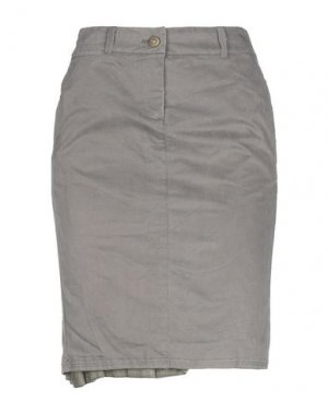 Юбка до колена COAST WEBER & AHAUS. Цвет: свинцово-серый