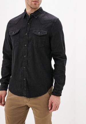 Рубашка джинсовая Gap. Цвет: черный
