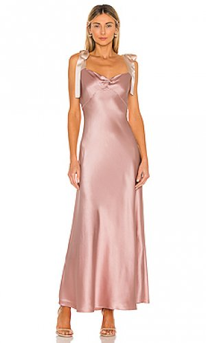 Платье-комбинация DANNIJO. Цвет: румянец