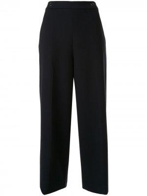 Укороченные брюки Juno Elie Tahari. Цвет: синий
