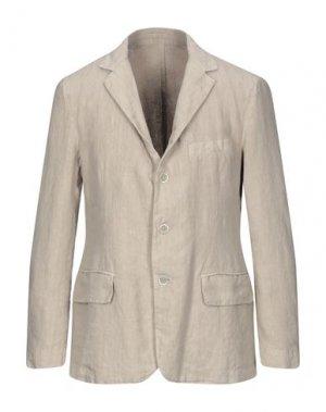 Пиджак 120%. Цвет: бежевый