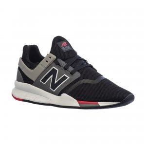 Кроссовки NB247 New Balance. Цвет: черный, зеленый