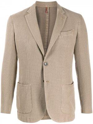Delloglio пиджак на двух пуговицах Dell'oglio. Цвет: нейтральные цвета