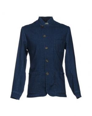 Пиджак OLIVER SPENCER. Цвет: синий
