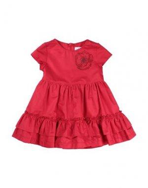 Платье ALETTA. Цвет: красный