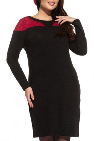 Платье La Via Estelar. Цвет: красный
