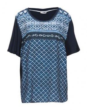 Блузка ELENA MIRO'. Цвет: синий