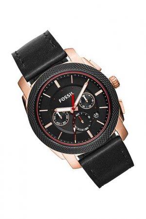 Наручные часы Fossil. Цвет: черный