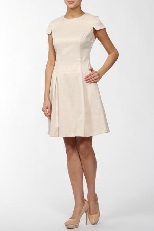 Платье Joe Suis. Цвет: бежевый