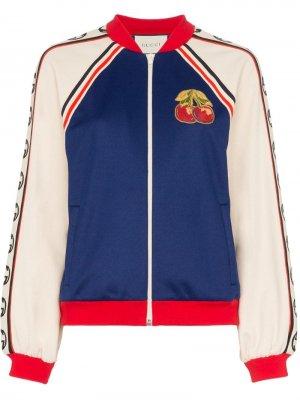 Куртка-бомбер с нашивкой Gucci
