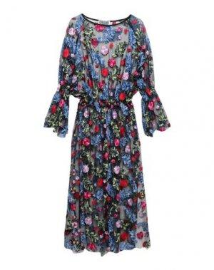Платье длиной 3/4 DRESS CODE. Цвет: черный