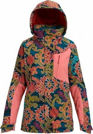 Куртка утепленная женская Ak Gore-Tex Embark, размер 44-46 Burton. Цвет: разноцветный