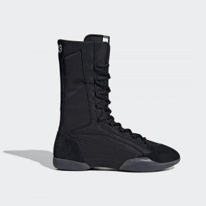 Ботинки Y-3 Taekwondo High by adidas. Цвет: черный