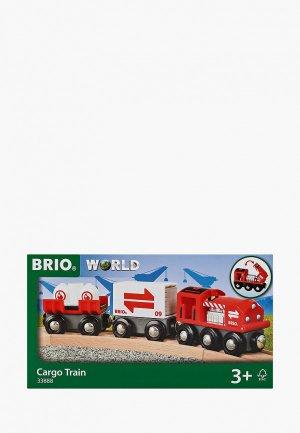 Конструктор Brio Грузовой поезд. Цвет: красный