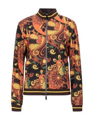 Куртка RRD. Цвет: коричневый