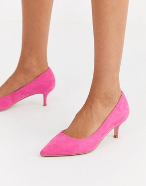 Розовые туфли-лодочки на среднем каблуке Chariot-Розовый Faith