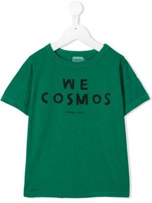 Футболка We Cosmos Bobo Choses. Цвет: зеленый