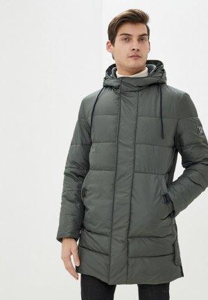 Куртка утепленная Absolutex. Цвет: зеленый