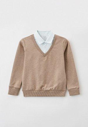 Пуловер Mark Formelle. Цвет: бежевый