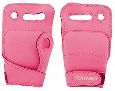 Перчатки утяжелители , 2 x 0,25 кг A-125P Torneo. Цвет: розовый