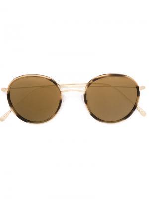 Солнцезащитные очки Morgan Spektre. Цвет: коричневый