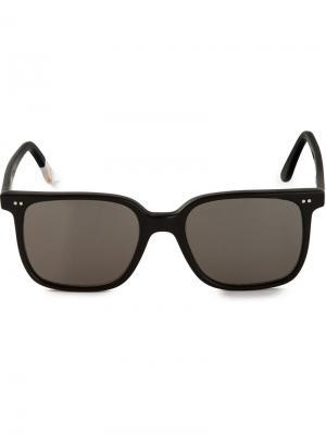 Солнцезащитные очки с отблеском Waiting For The Sun. Цвет: чёрный