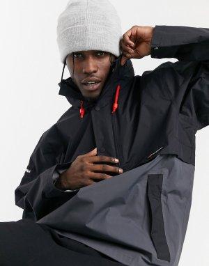 Черно-серая лыжная куртка свободного кроя Ski Smock 86-Черный Berghaus