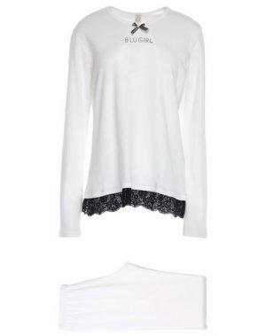 Пижама BLUGIRL BLUMARINE. Цвет: белый