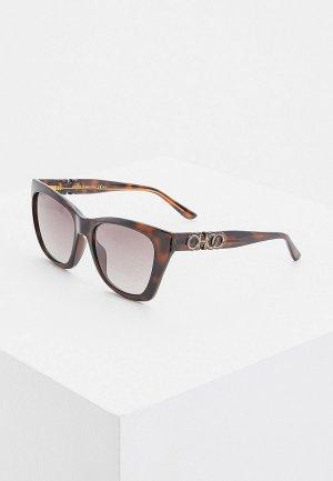 Очки солнцезащитные Jimmy Choo RIKKI/G/S 086. Цвет: коричневый