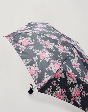Черный зонтик -Черный цвет Miss Selfridge