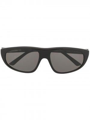 Солнцезащитные очки BB0098S Balenciaga Eyewear. Цвет: черный