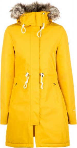 Куртка утепленная женская Zaneck, размер 46-48 The North Face. Цвет: желтый
