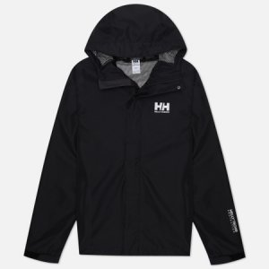 Мужская куртка ветровка Seven J Helly Hansen. Цвет: чёрный