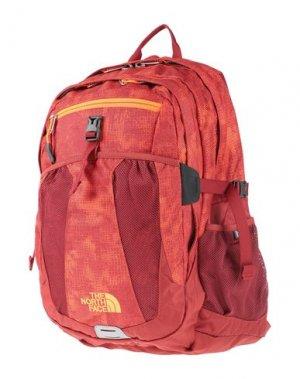 Рюкзаки и сумки на пояс THE NORTH FACE. Цвет: красный