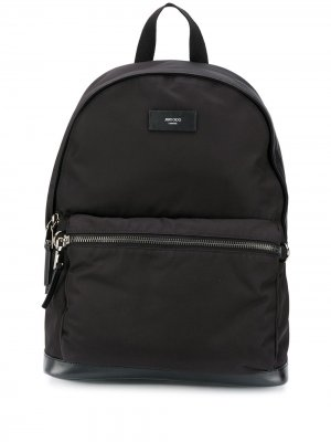 Wilmer backpack Jimmy Choo. Цвет: черный