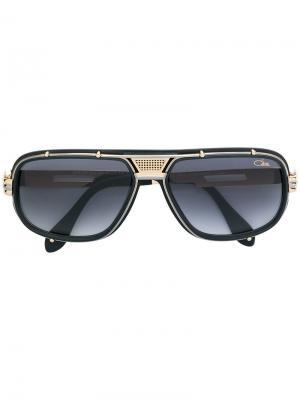 Солнцезащитные очки 665 Cazal. Цвет: черный
